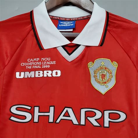Последние твиты от ucl manchester united (@uclmanunited). Manchester United 1999 UCL Final Football Shirt