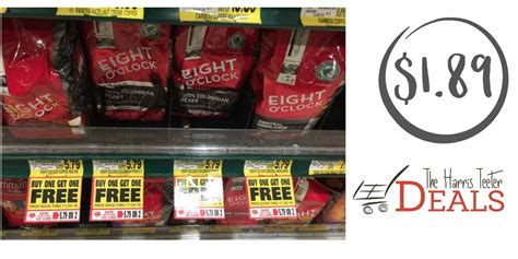 Eight O Clock Coffee $1.89 after coupon!   The Harris Teeter Deals