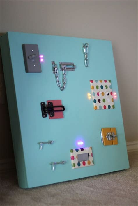 light board for kids diy activity board for kids with actual lights that turn