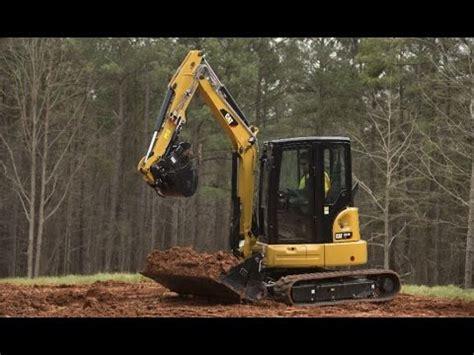 cat  xtc mini excavator overview youtube