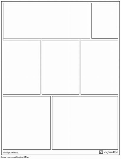 Graphic Novel Layout Template Example Worksheet Customize