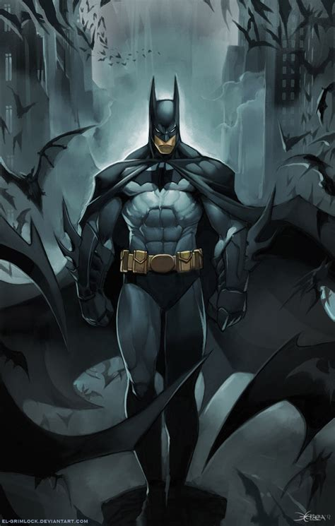 Batman By Elgrimlock On Deviantart