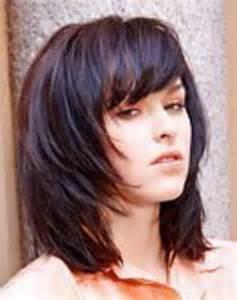 Frisuren Schulterlanges Haar Gestuft Braun by Frisuren Schulterlanges Haar Gestuft