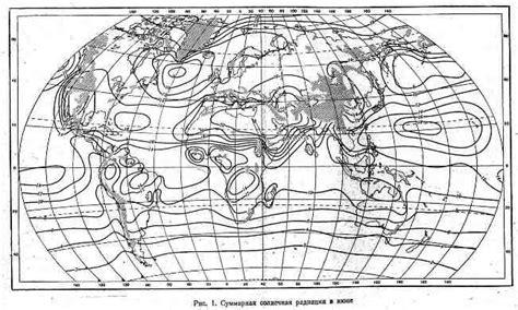 Суммарная прямая и рассеянная солнечная радиация в Амурской области на горизонтальную поверхность при действительных условиях.