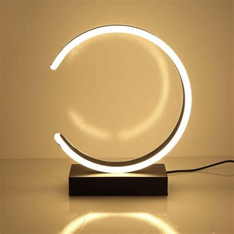 buy  shaped led table lamp modern desk lamp makeup