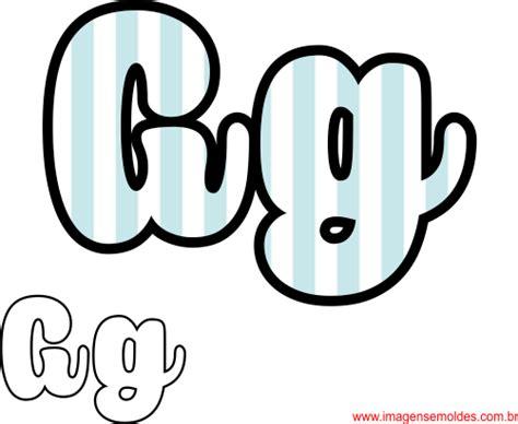 molde da letra g cursiva