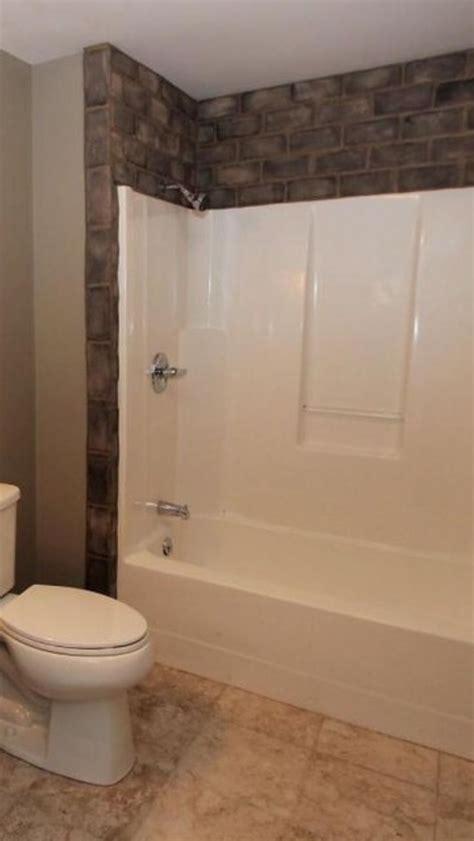 tile  fiberglass tub surround tub remodel small