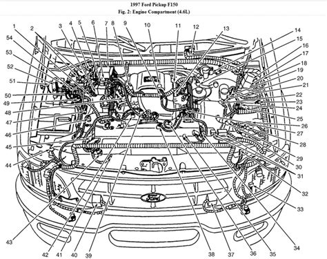 Diagram Of 2003 4 6 F150 Engine by Abs Module Where Is The Abs Module Located On A 1997 Ford
