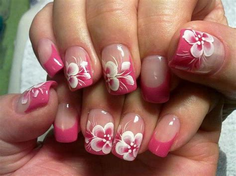 flower nail design how to make flower nail designs