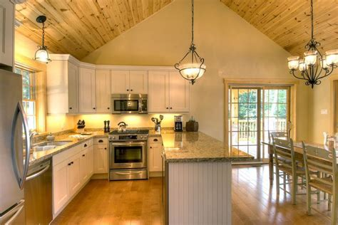 Kitchens with Cathedral Ceilings   The great rooms with