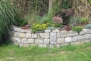 Pflanzen Für Trockenmauer : natursteinmauer trockenmauer bauen und mit stauden begr nen bepflanzen native plants ~ Orissabook.com Haus und Dekorationen