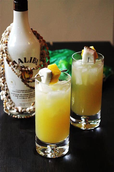 top  coconut rum drinks  recipes