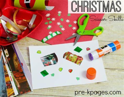 theme activities for preschool 478   christmas scissor skills preschool