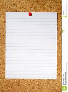 White Lined Paper. Stock Image - Image: 2331881