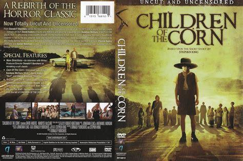 children   corn horror dark children corn poster