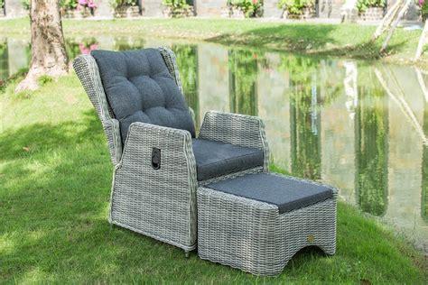 Polyrattan Relaxing Armchair, Outdoor Resin Armchair