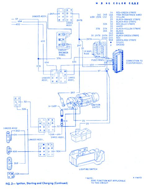 Ford Fairmont Part Electrical Circuit Wiring Diagram