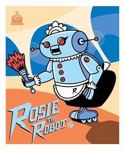 Jetsons Rosie Robot Maid Jetson Cartoon Cartoons
