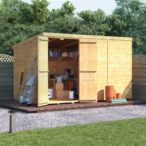 Master Sheds by Billyoh Master Tongue And Groove Pent Shed Garden Sheds
