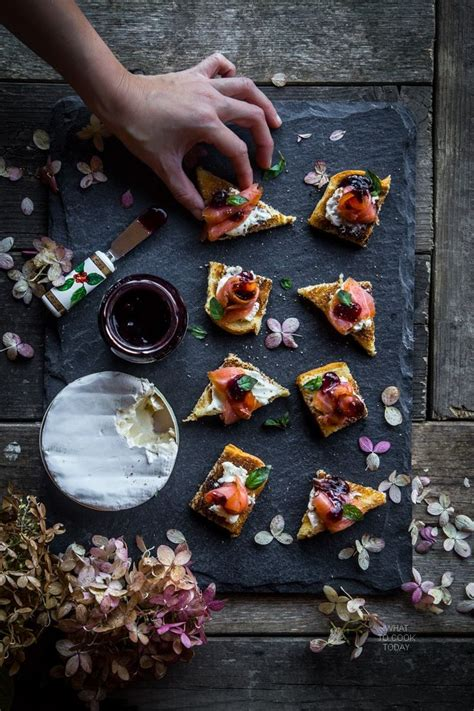berry canapes best 25 salmon canapes ideas on smoked salmon