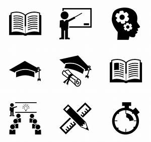 3 academic icon packs - Vector icon packs - SVG, PSD, PNG ...