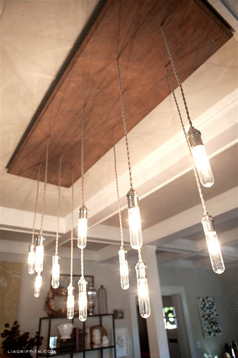 Diy Edison Chandelier by Industrial Edison Style Chandelier Tutorial Lia
