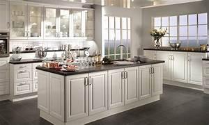 modele de cuisine avec ilot cuisine moderne bleu canard With modele cuisine avec ilot central