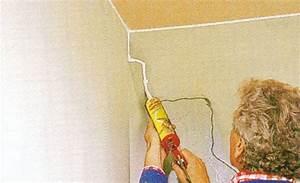 Risse Im Putz Reparieren : risse in der wand mit acryl ausbessern ~ Orissabook.com Haus und Dekorationen