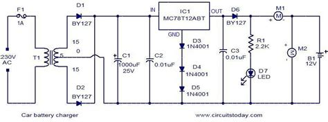 Car Battery Charger With Mct Audio Wiring Diagram