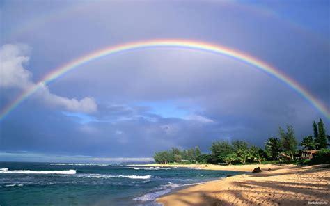 desktop hintergrundbilder natur regenbogen kueste