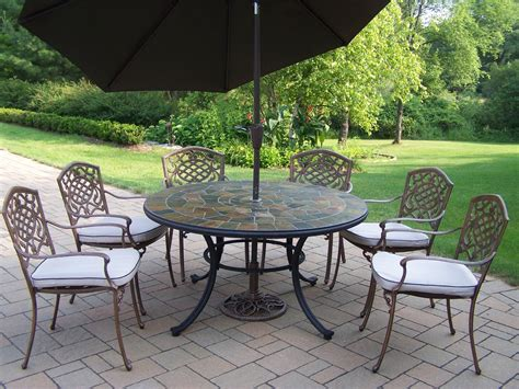 "Oakland Living Patio Dining Set W 54"" Stone Topped Table. Home Depot Patio Furniture With Fire Pit. Ideas On Patio Designs. Patio Furniture Sale Teak. What Is Patio Chic Attire. Building A Patio Regulations. Cheap Patio Furniture From China. Natural Grove Landscape Patio Llc. Patio Furniture Sets Canadian Tire"