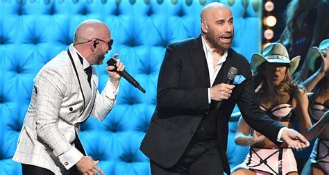 John joseph travolta (born february 18, 1954) is an american actor and singer. John Travolta Teams Up with Pitbull for Live Performance at Univision's Premio Lo Nuestro 2020 ...
