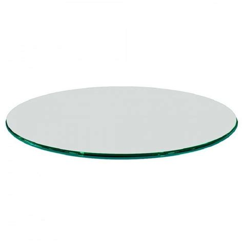 thick glass table top glass table top 48 in round 1 2 in thick ogee tempered