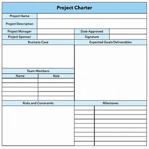 how to write a winning project charter lucidchart blog With software project charter template