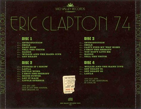 eric clapton quot can t find my way home quot guitar tab front cover back cover New