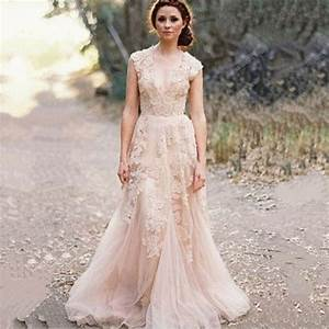 2015 hot sale vintage lace a line wedding dresses custom With lace wedding dress for sale