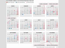 El calendario bursátil de España en 2017 tiene solo cinco