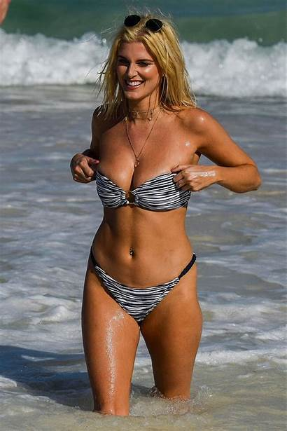 Ashley Bikini James Beach Tanzania January Celebzz