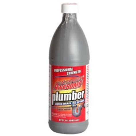 las totally awesome plumber liquid drain cleaner review