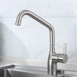 kitchen faucet nickel high end rotatable stainless steel kitchen faucets brushed
