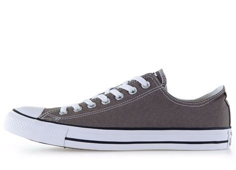 Converse Chucks Low Top Canvas Charcoal (grey)/white New