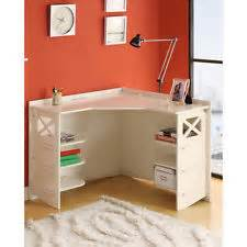 white corner desk ebay