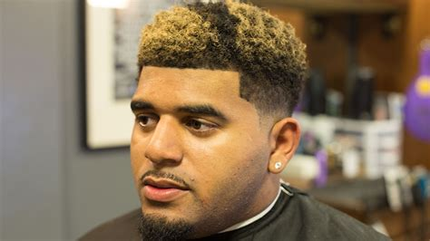 Nudred Low Fade W/ Blond Coloring