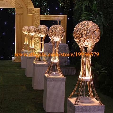 hin globe stand  wedding event table tall centerpieces
