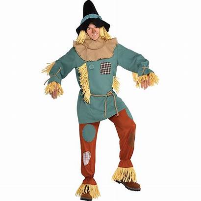 Wizard Scarecrow Oz Costume Adult Costumes Silly