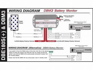 Piranha Dual Battery Isolator Management System Kit 12v