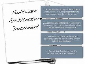 software architecture document guidelines With architecture documentation tools