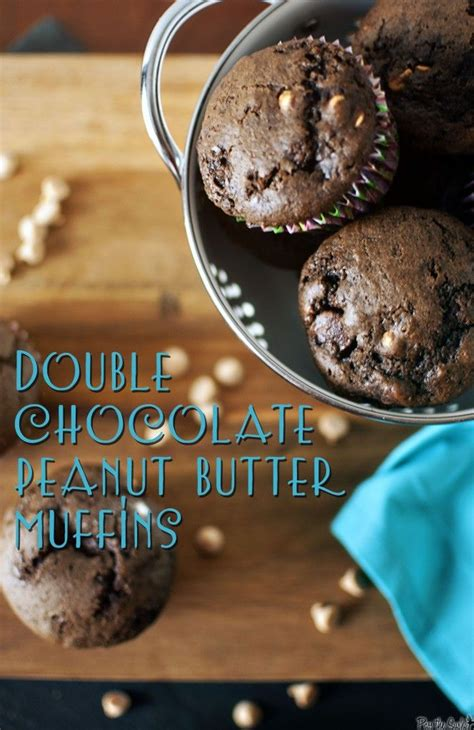Double Chocolate Peanut Butter Muffins & Races Double