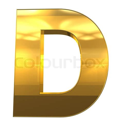 gold alphabet 3d letters stock photography image 29339742 letter d from gold with gold frame alphabet set isolated 75864
