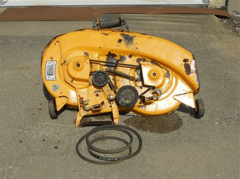 Used Mower Decks Cub Cadet cub cadet 38 quot mower deck 2130 2135 ebay